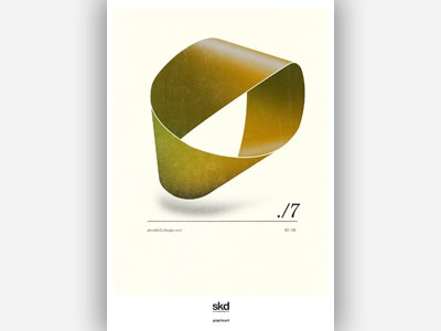 skd self promotion - abstract poster