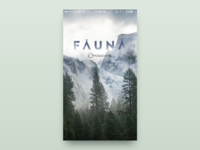 Fauna · Splash screen