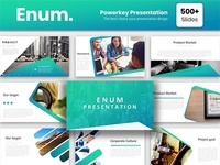 Enum Powerpoint Template