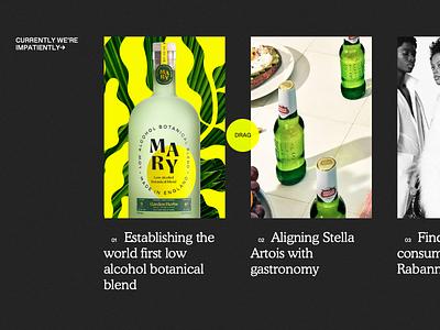 Impero website mobile awwwards modernist minimalist folio portfolio agency type website typography web design webdesign