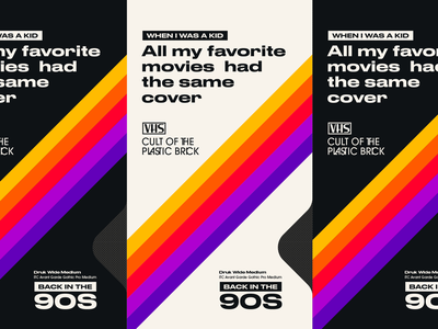 Typostories  - Vol 14 cover art cover vhs gif design letters type illustration typography vector