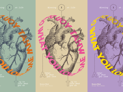 Typostories - Vol 22 anatomic love heart letters type lettering illustration typography vector