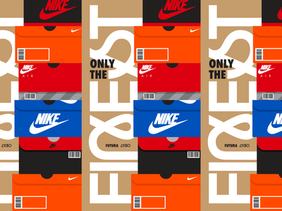 Typostories - Vol 24 hypebeast sneakerhead nike sneakers letters type lettering illustration typography vector