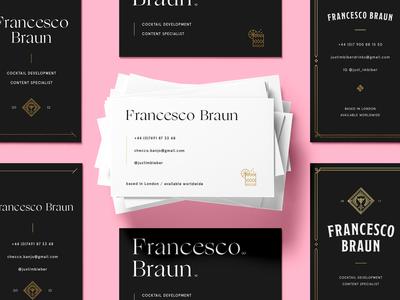 Francesco Braun - business cards