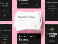 Francesco Braun - business cards