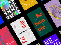 TypoStories on Behance