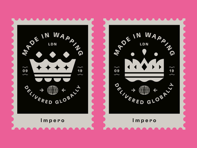 Impero stamps