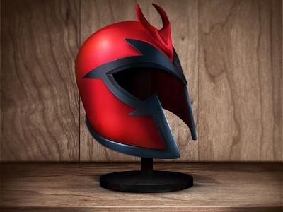 Magneto magneto helmet