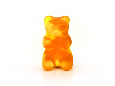 Jelly Bear jelly gummy bear yellow