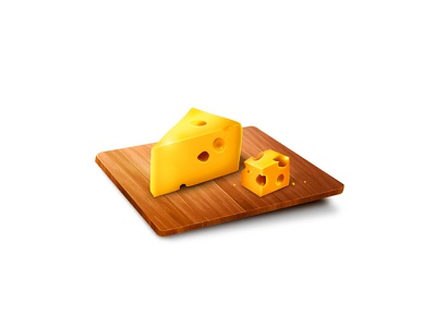 Cheese cheese icon wood
