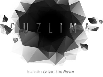 The winter is coming logo portfolio test polygons