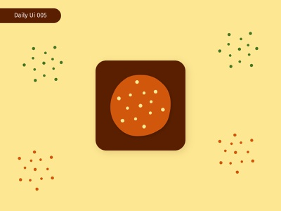 Daily Ui 005 - App Icon daily ui gluten glutenfree bakery cookie graphicdesign icon appicon design ui ux userexperience interaction branding adobexd