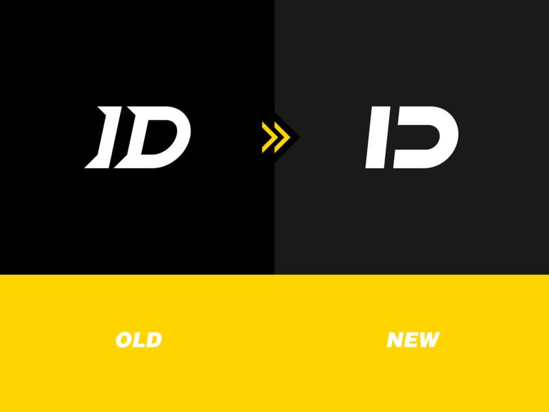 the new logo of ID STUDIO newlogo focus infinity connect logo-font brand logo 设计