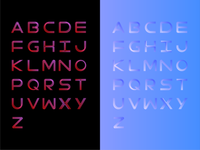 letters color try