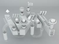 WYM LOGO 3D Design