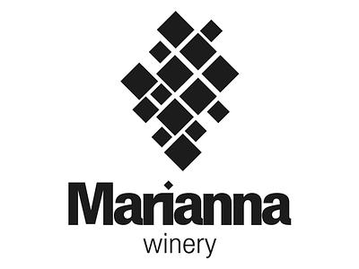 Marianna Logo Dribble packaging wine branding logo