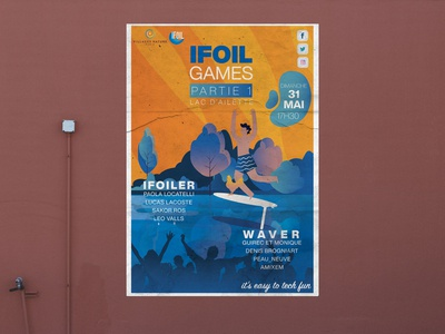Event Wall Poster - iFoil Games ☀️