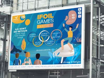 Event Display Ad - iFoil Games ☀️