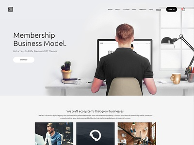 Membership Wordpress Theme