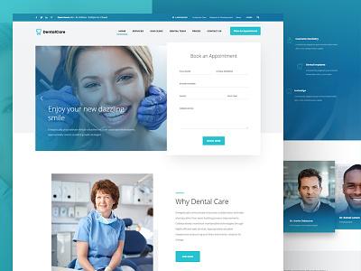 Dentist demo for Kallyas wordpress ui theme medical interface health doctor dentist dental clinic care