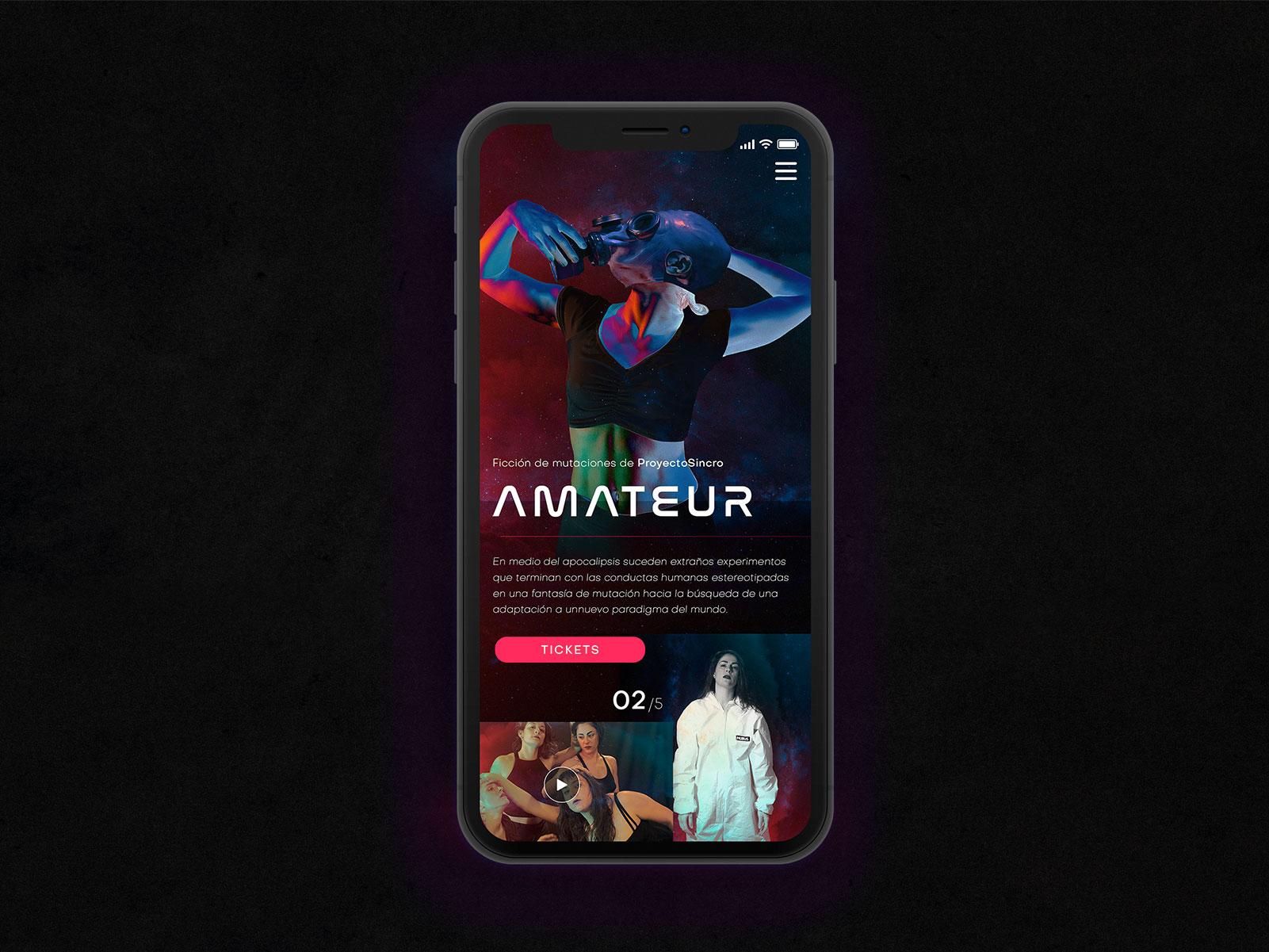 Amateur Hd Mobile By Pablo On Dribbble