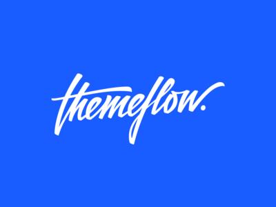 themeflow Logo branding templates webflow themeflow theme logodesign logo