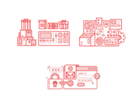 Various Gamification Illustrations (2)