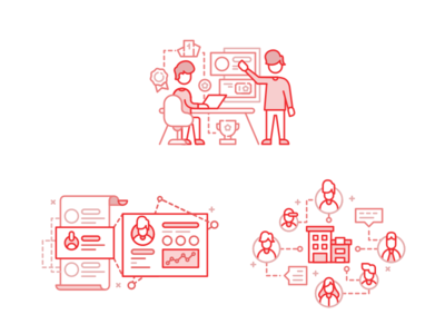 Various Gamification Illustrations (4)