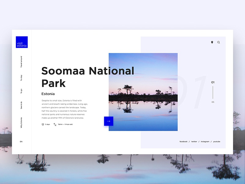 Visit Estonia — Travel Website
