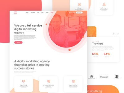 LP for Digital Marketing Agency