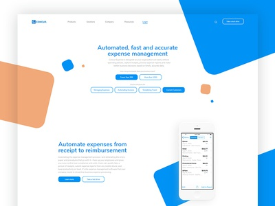 Redesign Concept for Concur