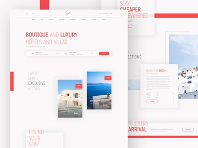 Luxury Hotels Booking Redesign