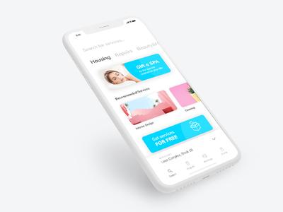 Domestic Services Mobile App