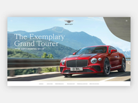 Bentley Website concept