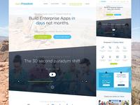 AppsFreedom Re-design