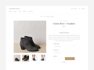 Product UI ecommerce simple ui interface product minimal clean