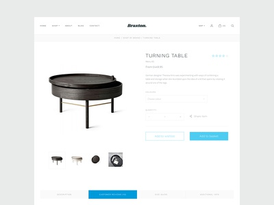 Simple product UI theme ui interface fresh ecommerce clean product