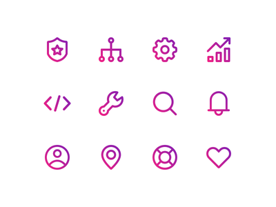 Line Icons minimal clean interface ui line icons icon set icons icon