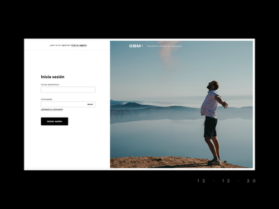 Login web design