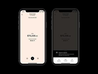 SC iphone x ui app design