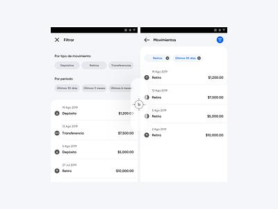 Movs app design ui backdrop android