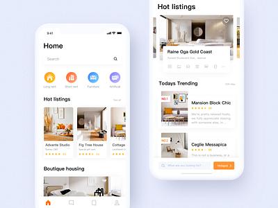 La Vie Home app ui