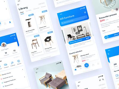AR Furniture   aggregate app ui