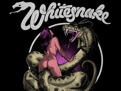 Whitesnake - Lovehunter graphicdesign design merchandise