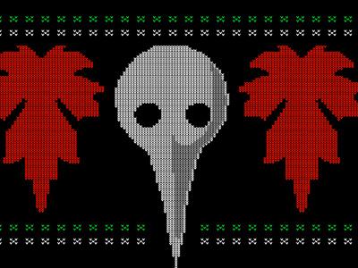 Red - Xmas Sweater numetal merchandise redmusiconline vector