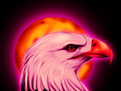 Travis Scott Eagle merchandise graphicdesign airbrush illustration trap travisscott