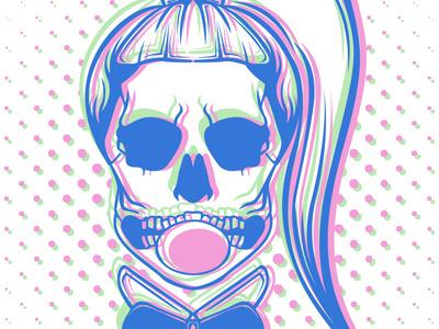 Skeleton bubble frt mst