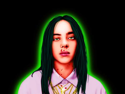 Billie Eilish -Digital Paintings