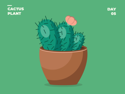 Day 5 Cactus Plant