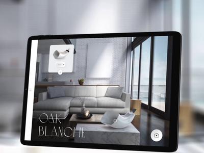AR Classy Interaction apple app design clean ui interior gadget luxury technology mixed reality augmentedreality app black  white ux product design animation ui minimal branding typography simple design design